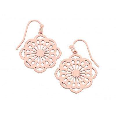Polly Rose Gold Earrings