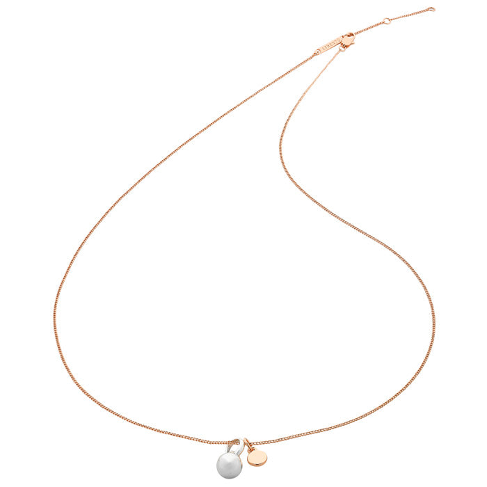 Aria Rose Gold Necklace