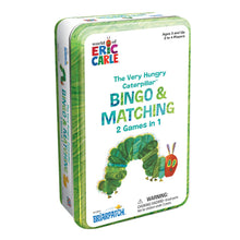 The Very Hungry Caterpillar Bingo & Matching Game in a Tin
