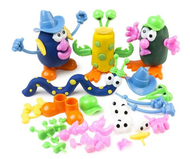 52 Pieces Dough Characters