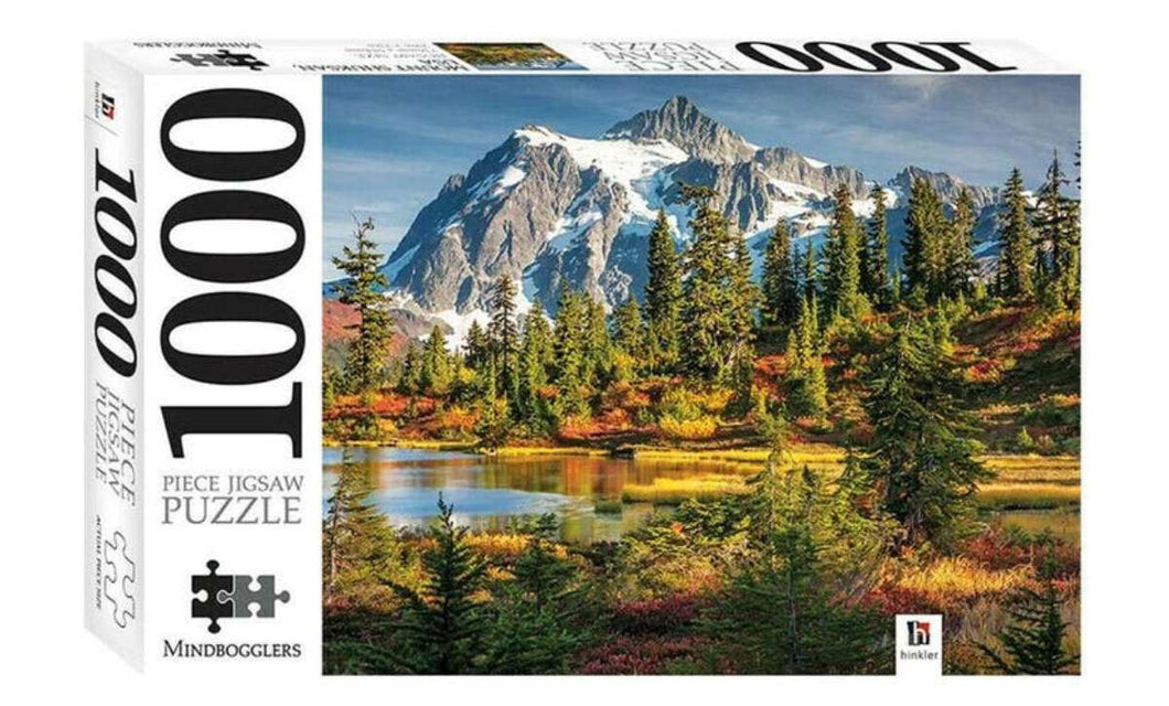 Jigsaw Puzzles 1000 Piece - Mount Shuksan, USA