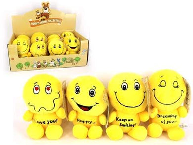 14 cm Happy Plush Toys