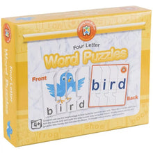 Learning Can Be Fun - Four Letter Word Puzzles