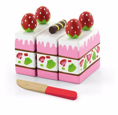Viga - Wooden Strawberry Cake