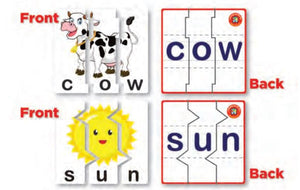 Learning Can Be Fun - Three Letter Word Puzzles