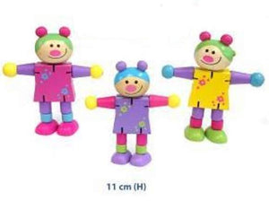 Fun Factory - Wooden Bendable Dolls