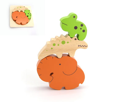 Kaper Kidz - Stacking Jigsaw Puzzle - Forest Friends