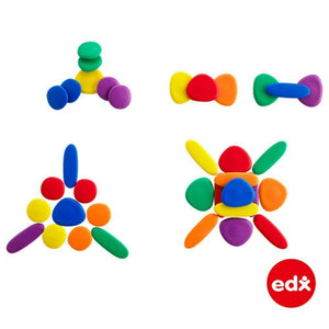 edx education - Rainbow Pebbles Set in a Box