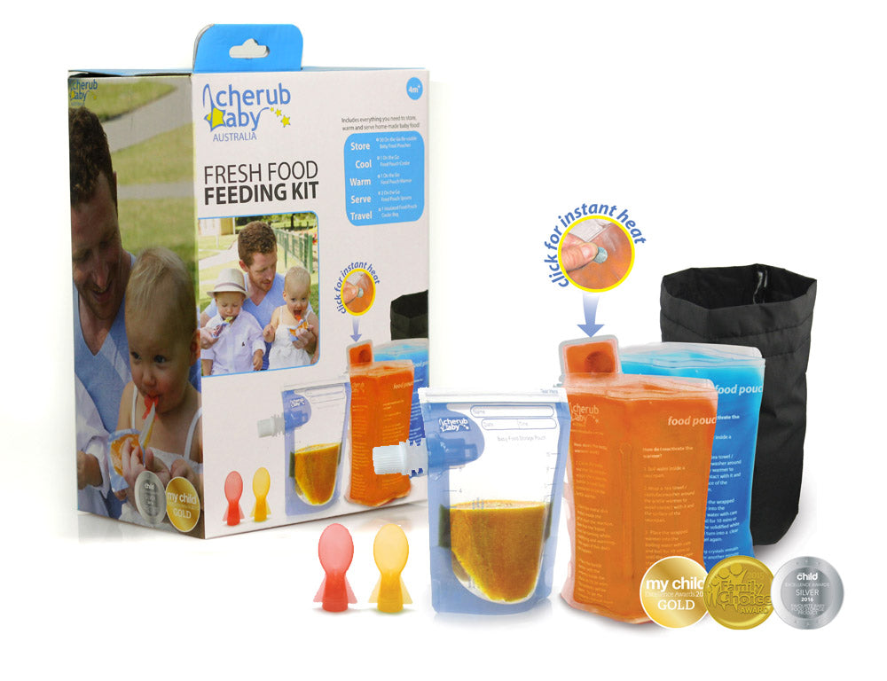 Cherub Baby - Fresh Food Feeding Set
