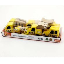 Viga - 6 Pcs Construction Vehicles