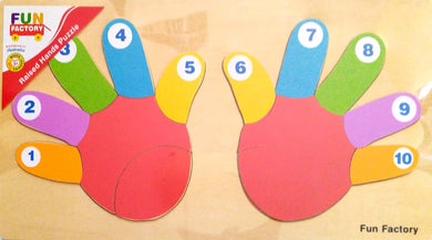 Fun Factory - Wooden Puzzle Hands