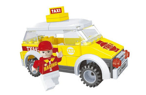 71 Pcs Ausini City Building Block - Taxi (25305)