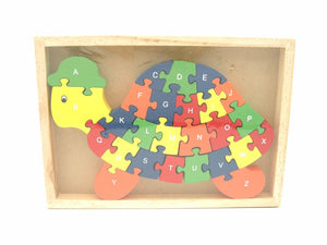 Kaper Kidz - Alphabet / Number Turtle Jigsaw in Tray