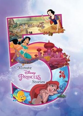 Scholastic 5-Minute Disney Princess Stories Hardcover Book