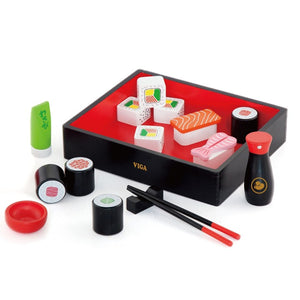 Viga - Wooden Sushi Set