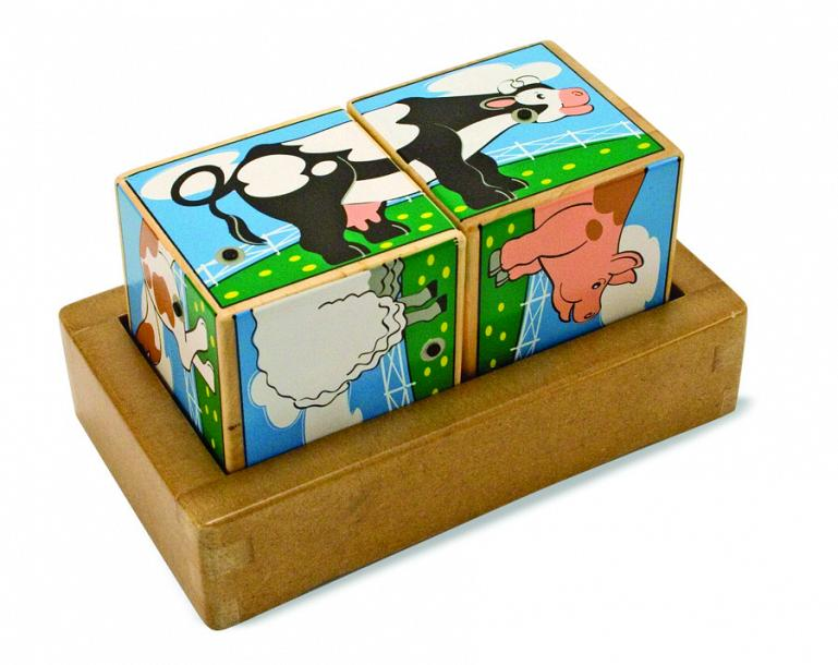 Melissa & Doug - Farm Sound Blocks