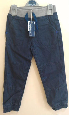 Minoti - Woven Pants Navy (Scooter5)
