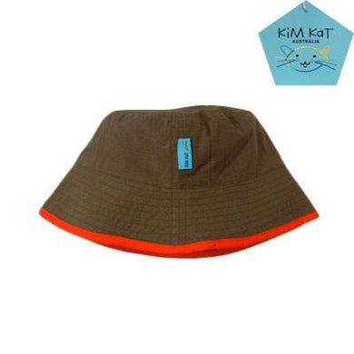 Kim Kat Boys Cotton Sun Hat