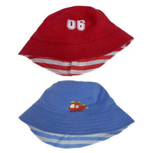 Baby Boys Hat Blue or Red