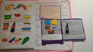 My Kitchen Playbook Activity Cloth Book