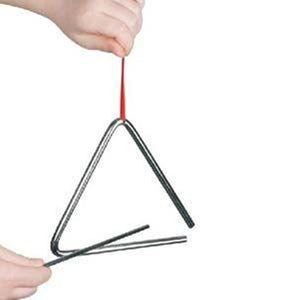 Triangle 15cm Metal Musical Instrument