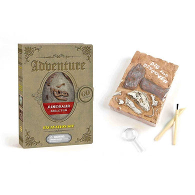 Adventure Dinosaur Skeleton Excavation Kit