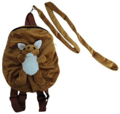 2 in 1 Backpack with Harness - Kangaroo