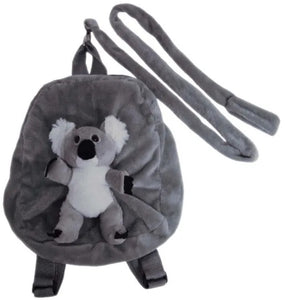 2 in 1 Backpack with Harness - Koala