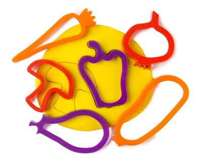 Dough/Cookie Cutters Vegetable Set of 6