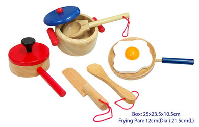 Fun Factory - 9 Pcs Wooden Cooking Set
