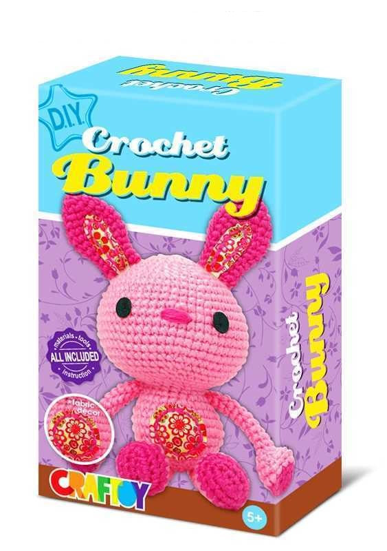 DIY Crochet Bunny Doll Kit