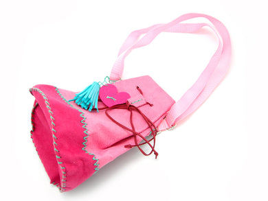 DIY Trendy Suede Bag Sewing Kit with safety needle