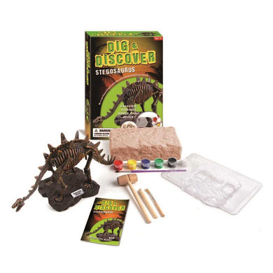 Dig and Discover Stegosaurus Excavation Kit