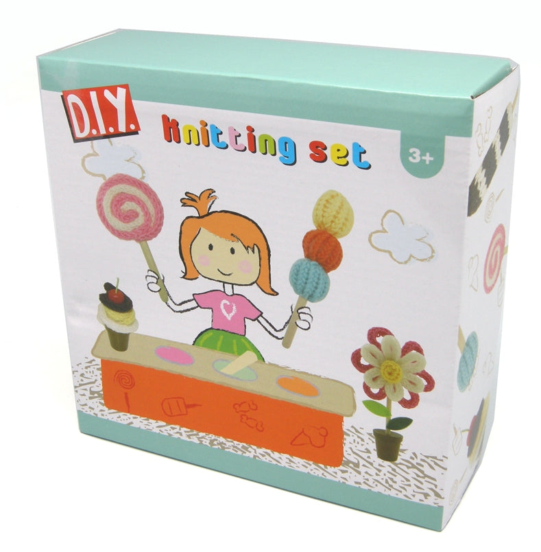 DIY Kids Starter Knitting Set