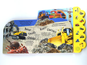Discovery Hammer At The Construction Site! Board Book with sounds