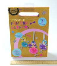 Krafters Korner DIY Craft Kit - LET'S CREATE POM POM MERMAIDS