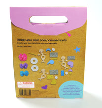 Krafters Korner DIY Craft Kit - LET'S CREATE POM POM FAIRIES