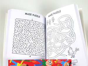 Brain Box Maze Puzzle Book