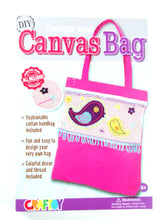 DIY Design Your Canvas Bag BIRD Sewing Kit with safety needle