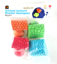 Animal Pattern Rocker Stampers - Set of 4