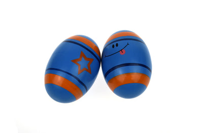 Koala Dream - Wooden Egg Shaker- BLUE
