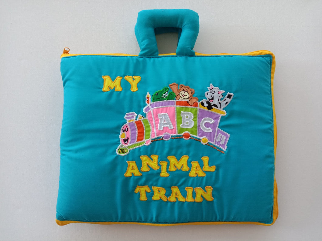 My ABC Animal Train Bus Playbook