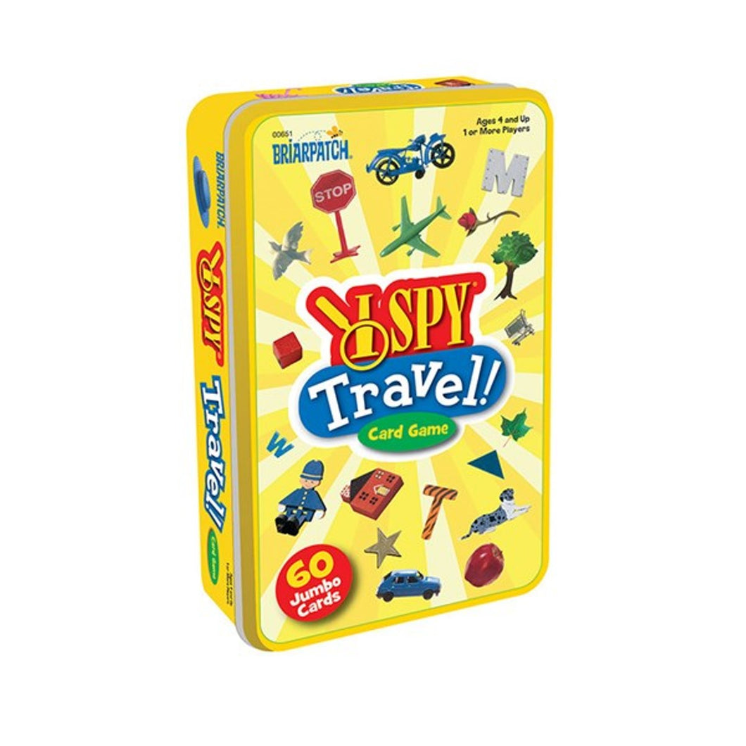I spy Travel card game in a tin