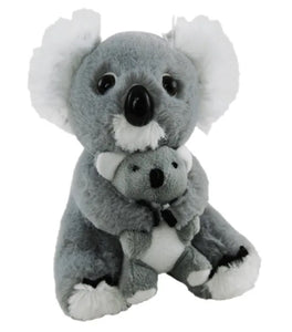 Koala with Baby Plush Toy - 14cm
