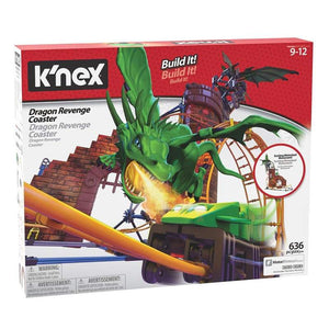 K'Nex Motorized Building Set - Dragon Revenge Roller Coaster Ride