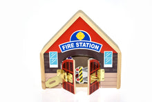 Kaper Kidz- Wooden Fire Station Playset