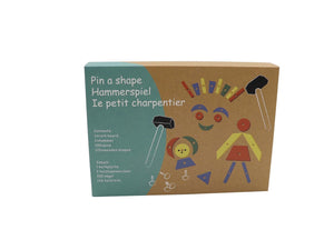 Kaper Kidz - Tap a Shape with Hammer Nails and Wooden Shapes