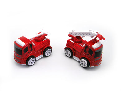 1x Die Cast Friction Fire Engine