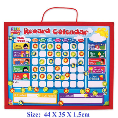 Fun Factory - Wooden Reward Chart  (Magnetic)