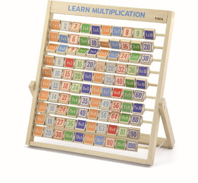Viga Wooden Learning Multiplication Frame